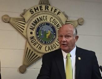 DOJ drops lawsuit against Alamance County Sheriff Terry Johnson